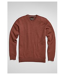 reserve collection tailored fit merino wool crew neck men's sweater