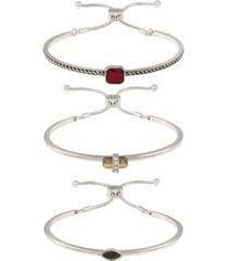 t tahari gypsy revival trio bracelet set