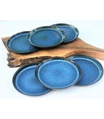 talerz ceramiczny mały deserowy talerze zestaw