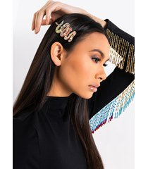 akira rainbow snake hair clip