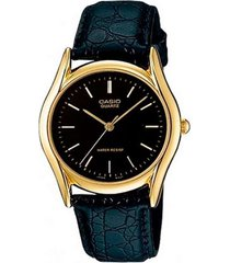 reloj casio ltp-1094q-1a analogo 100% original-negro