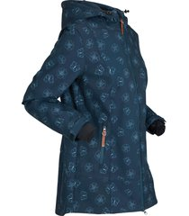 giacca comoda in softshell (blu) - bpc bonprix collection