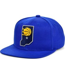 mitchell & ness indiana pacers 2 tone classic snapback cap