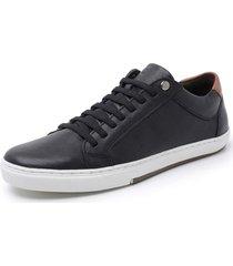 sapatenis sandalo vintage preto - preto - masculino - dafiti
