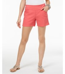 inc curvy pull-on shorts, created for macy's
