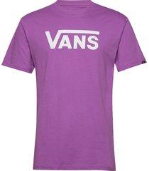vans classic t-shirts short-sleeved lila vans