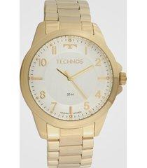 relógio technos 2035msx/1k dourado