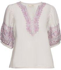 dynamic blouse blouses short-sleeved wit odd molly