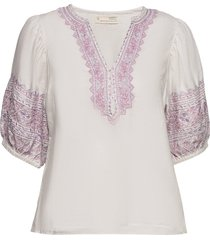 dynamic blouse blouses short-sleeved wit odd molly