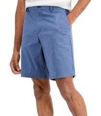 calvin klein men's stretch cotton dobby shorts