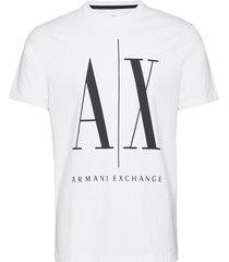 man t-shirt t-shirts short-sleeved vit armani exchange