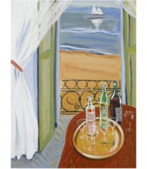 """patricia a. reed terrace tasting canvas art - 36.5"""" x 48"""""""