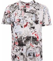 hugo dallpaper t-shirt - white 50406428