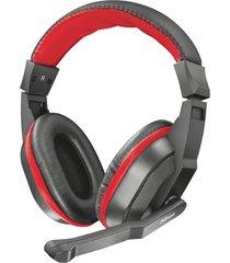 audifono diadema gamer trust ziva 3.5 mm negro