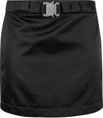 1017 alyx 9sm black mid length skirt