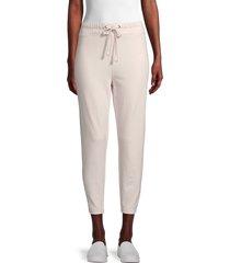 james perse women's tapered sweatpants - dapple - size 2 (m)