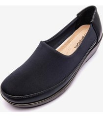 mocasin asagao navy chancleta