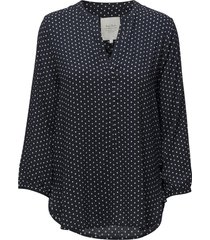 chichipw bl blouse lange mouwen blauw part two
