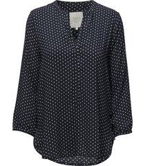 chichipw bl blouse lange mouwen blauw part two