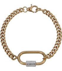 women's allsaints carabiner flex bracelet