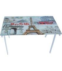 mesa facthus para escritório paris branco