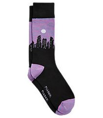 jos. a. bank cityscape mid-calf socks, one-pair
