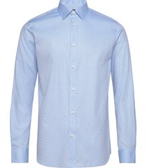 slhregpen-keno shirt ls b noos overhemd business blauw selected homme