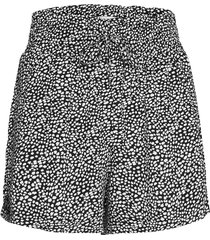 anf womens shorts shorts flowy shorts/casual shorts svart abercrombie & fitch