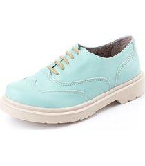 zapato abotinado vera cuero natural aqua rosevelt