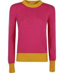 tory burch colorblock sweater