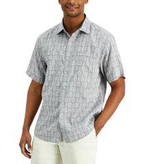 tommy bahama men's pina block party shirt