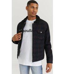 jeansjacka sherpa denim jacket
