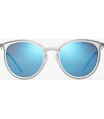mk occhiali da sole brisbane - blu (blu) - michael kors