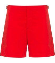 orlebar brown slim-fit swim shorts - red