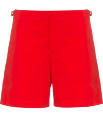 orlebar brown slim-fit swim shorts - red