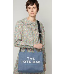marc jacobs women's the small tote bag - blue shadow