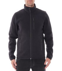 filson ridgeway fleece jacket - black 20052630