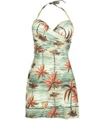 maio new beach poliamida fax versatil meia taça praiana feminino - feminino