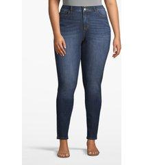 lane bryant women's lane essentials venezia high-rise t3 skinny jean - dark wash 26s dark wash