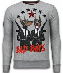 sweater local fanatic bad boys rhinestone