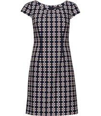 dress short 1/2 sleeve korte jurk multi/patroon betty barclay