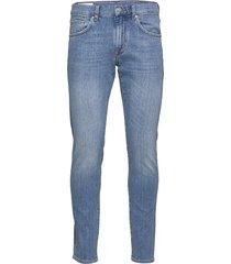 jay-worked slimmade jeans blå j. lindeberg