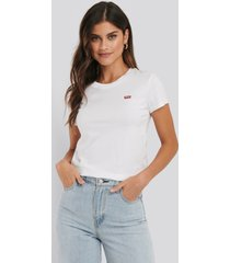 levi's perfect tee small batwing - white