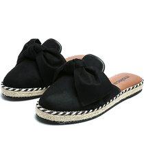 slipper negro-café-beige moleca