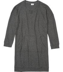 camicia da notte in tessuto morbido (grigio) - bpc bonprix collection