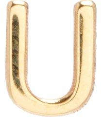 """petite letter' single earring"