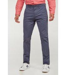 pantalon slim fit koaj - azul