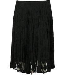 rok paul smith jupe courte plissée à pois
