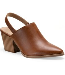 sun + stone nikki pointed-toe shooties, created for macy's women's shoes