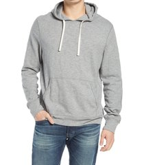 rails mammoth knit hoodie, size xx-large in heather grey at nordstrom
